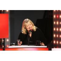 """Logo du podcast Charlotte de Turckheim heureuse de retrouver """"Les Grosses Têtes"""""""