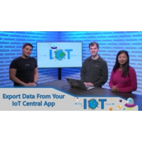 Logo of the podcast Export data from your IoT Central app to Azure Event Hubs and Azure Service Bus | Internet of Thing…