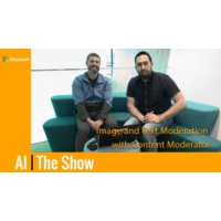 Logo of the podcast Image and Text Moderation with Content Moderator | AI Show