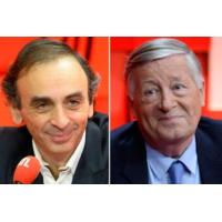 """Logo of the podcast Alain Duhamel et Éric Zemmour débattent de la """"trumpisation"""" des esprits"""