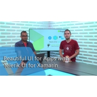 Logo of the podcast Beautiful UI for Apps with Telerik UI for Xamarin | The Xamarin Show
