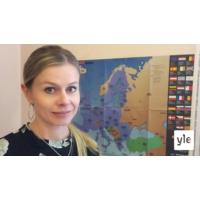 Logo of the podcast Brysselin kone: Minkälaista EU-budjettia Suomi haluaa, erityisavustaja Riikka Pakarinen