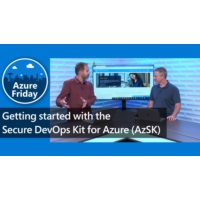 Logo of the podcast Getting started with the Secure DevOps Kit for Azure (AzSK) | Azure Friday