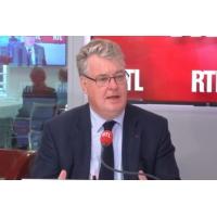 """Logo of the podcast Réforme des retraites : """"Je veux combattre l'égoïsme corporatiste"""", dit Delevoye sur RTL"""