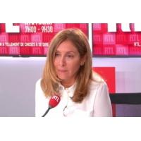 """Logo of the podcast Carole Ghosn """"lance un appel à Emmanuel Macron"""" sur RTL"""