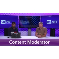Logo of the podcast Detecting unwanted content using machine-assisted content moderation | On .NET