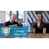 Logo of the podcast Episode 25: Five Things About CSS | Five Things