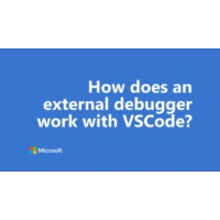 Logo of the podcast One Dev Question - How does an external debugger work with VSCode?