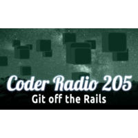 Logo of the podcast Git off the Rails | CR 205