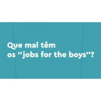 "Logo of the podcast Que mal têm os ""jobs for the boys""?"