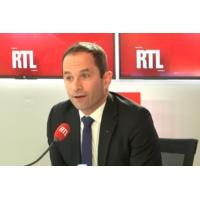 """Logo of the podcast Européennes : Hamon annonce sur RTL une """"votation citoyenne"""" pour une liste unie à gauche"""