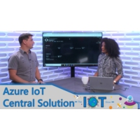 Logo of the podcast First look at Maps in Azure IoT Central | Internet of Things Show