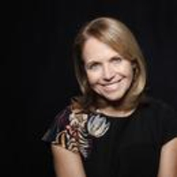 Logo of the podcast Katie Couric on Death and Dishonesty