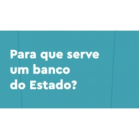 Logo of the podcast Para que serve um banco do Estado?
