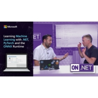 Logo of the podcast Learning Machine Learning with .NET, PyTorch and the ONNX Runtime | On .NET