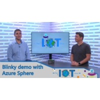Logo of the podcast Blinky Demo with Azure Sphere | Internet of Things Show