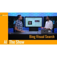 Logo of the podcast Bing Visual Search | AI Show