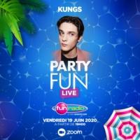 Logo of the podcast Kungs mix pour le Party Fun Live Spécial Fête de la Musique