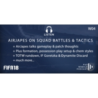 Logo of the podcast W04: AirJapes on Possession & Squad Battles