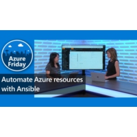 Logo of the podcast Automate Azure Resources with Ansible | Azure Friday