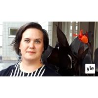 Logo of the podcast Miten käy sosiaalidemokraateille EU:ssa, Kalevi Sorsa -säätiön toiminnanjohtaja Kaisa Penny