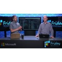 Logo of the podcast Hybrid Storage with Azure File Sync | Azure Friday