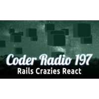 Logo of the podcast Rails Crazies React | CR 197