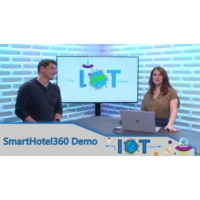 Logo of the podcast SmartHotel 360, a demo powered by Azure Digital Twins | Internet of Things Show