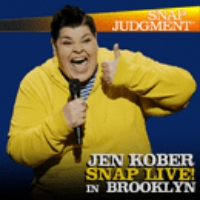 "Logo du podcast Jen Kober ""Skydiving"" at Snap LIVE! in Brooklyn"