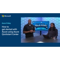 Logo of the podcast How to get started with Azure using Azure Quickstart Center | Azure Friday