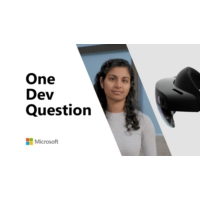 Logo of the podcast What is Azure Mixed Reality Services? | One Dev Question