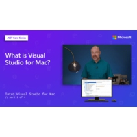 Logo of the podcast What is Visual Studio for Mac? [1 of 4] | Intro to Visual Studio for Mac
