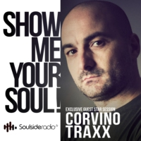 Logo of the podcast SOULSIDE Radio presents CORVINO TRAXX // Exclusive Guest Mix Session // 02.2017