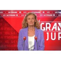 Logo du podcast Le Grand Jury de Nicole Belloubet