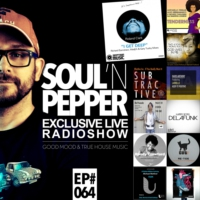 Logo of the podcast JOHN SOULPARK // SOUL'N PEPPER Radioshow // EP#64