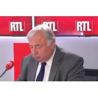 Logo of the podcast Gérard Larcher était l'invité de RTL du 20 juin 2019