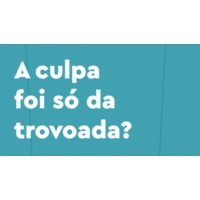 Logo of the podcast A culpa foi só da trovoada?