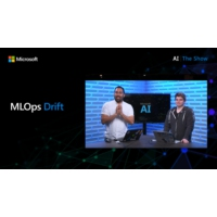 Logo of the podcast Data Drift Monitoring for Azure ML Datasets | AI Show
