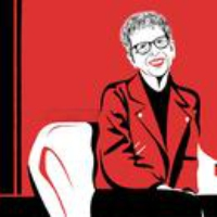 Logo of the podcast Terry Gross Talks with David Remnick