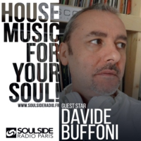 Logo of the podcast SOULSIDE RADIO GUEST SESSION – DAVIDE BUFFONI