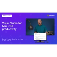 Logo of the podcast Visual Studio for Mac .NET productivity [3 of 4] | Intro to Visual Studio for Mac