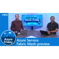 Logo of the podcast Azure Service Fabric Mesh preview | Azure Friday