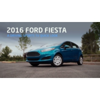 Logo du podcast 2016 Ford Fiesta Turbo Quick Drive