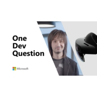 Logo of the podcast One Dev Question - What new HoloLens and Azure products were released in Barcelona?