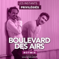 Logo of the podcast BOULEVARD DES AIRS interview dans Les Instants Privilégiés Hotmixradio.