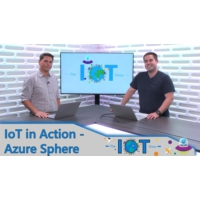 Logo of the podcast IoT In Action - Introducing Azure Sphere | Internet of Things Show