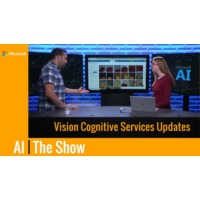 Logo of the podcast Vision Cognitive Services Updates | AI Show
