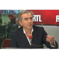 """Logo of the podcast Européennes 2019 : """"J'espère de tout mon coeur que Marine Le Pen sera battue"""", dit BHL"""