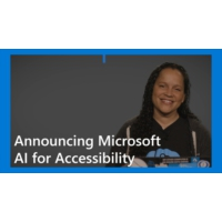 Logo of the podcast Announcing Microsoft AI for Accessibility | AI Show