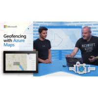 Logo of the podcast Geofencing with Azure Maps | Internet of Things Show
